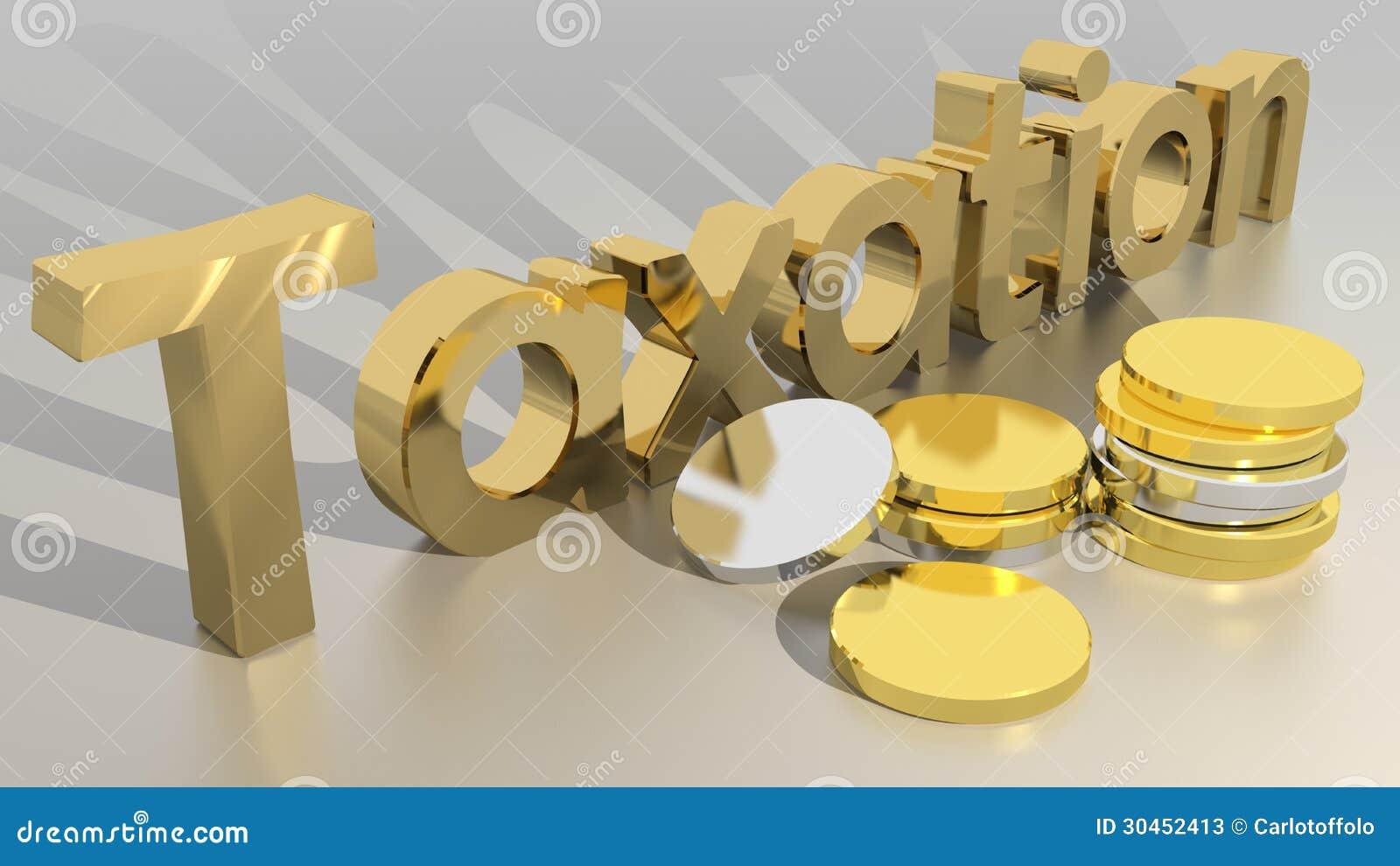 Taxation stock illustration. Illustration of revenue - 30452413