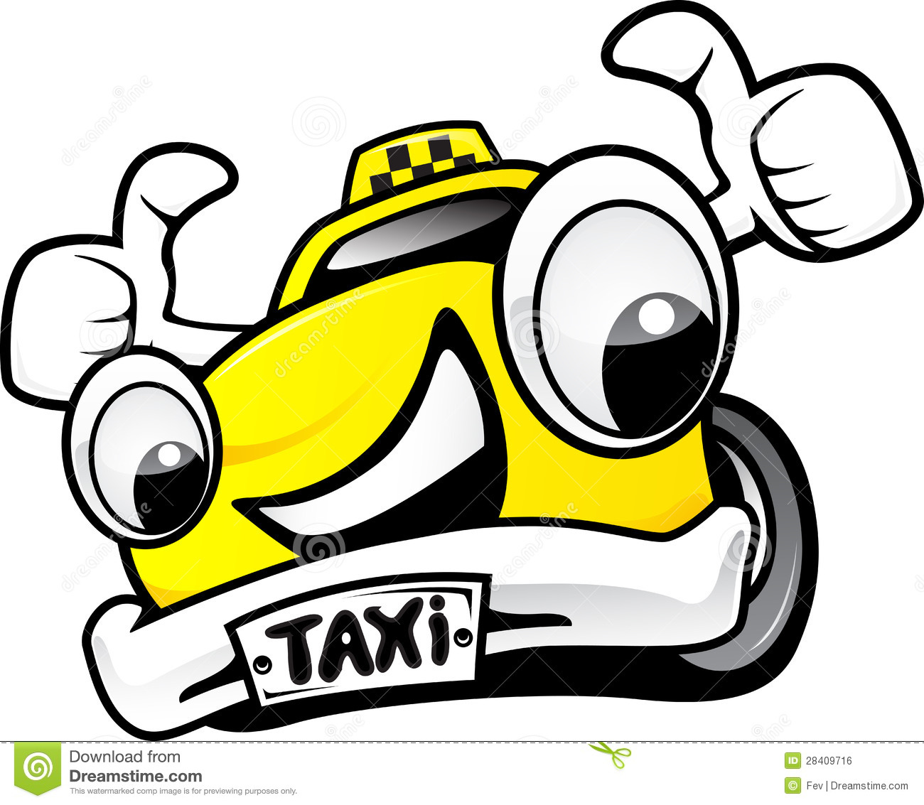 Taxi Stock Illustration Illustration Of Illustration