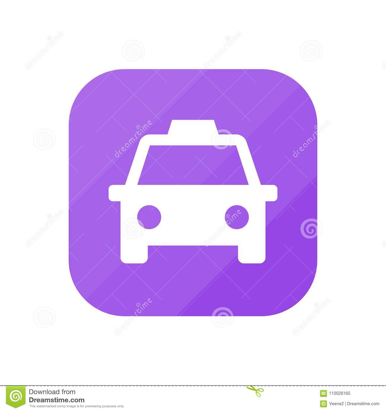 Taxi - App Pictogram