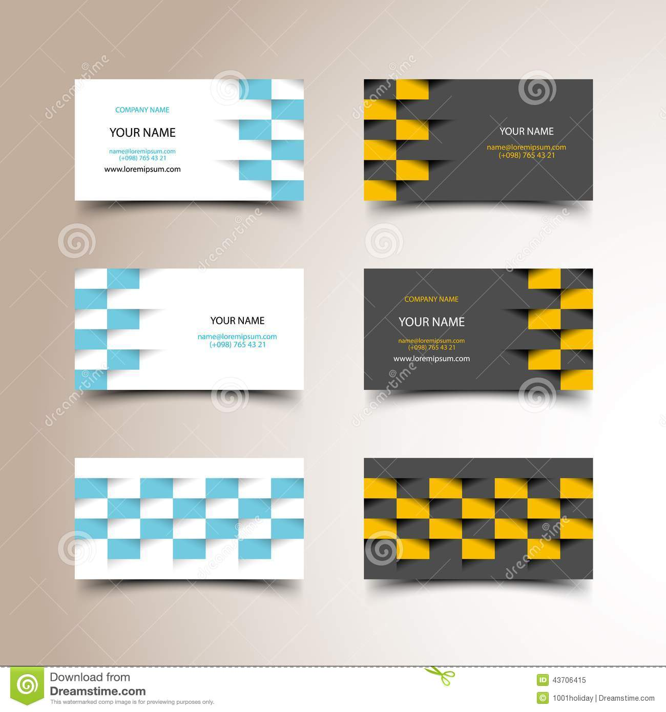 taxi business card set stock vector illustration of driver 43706415