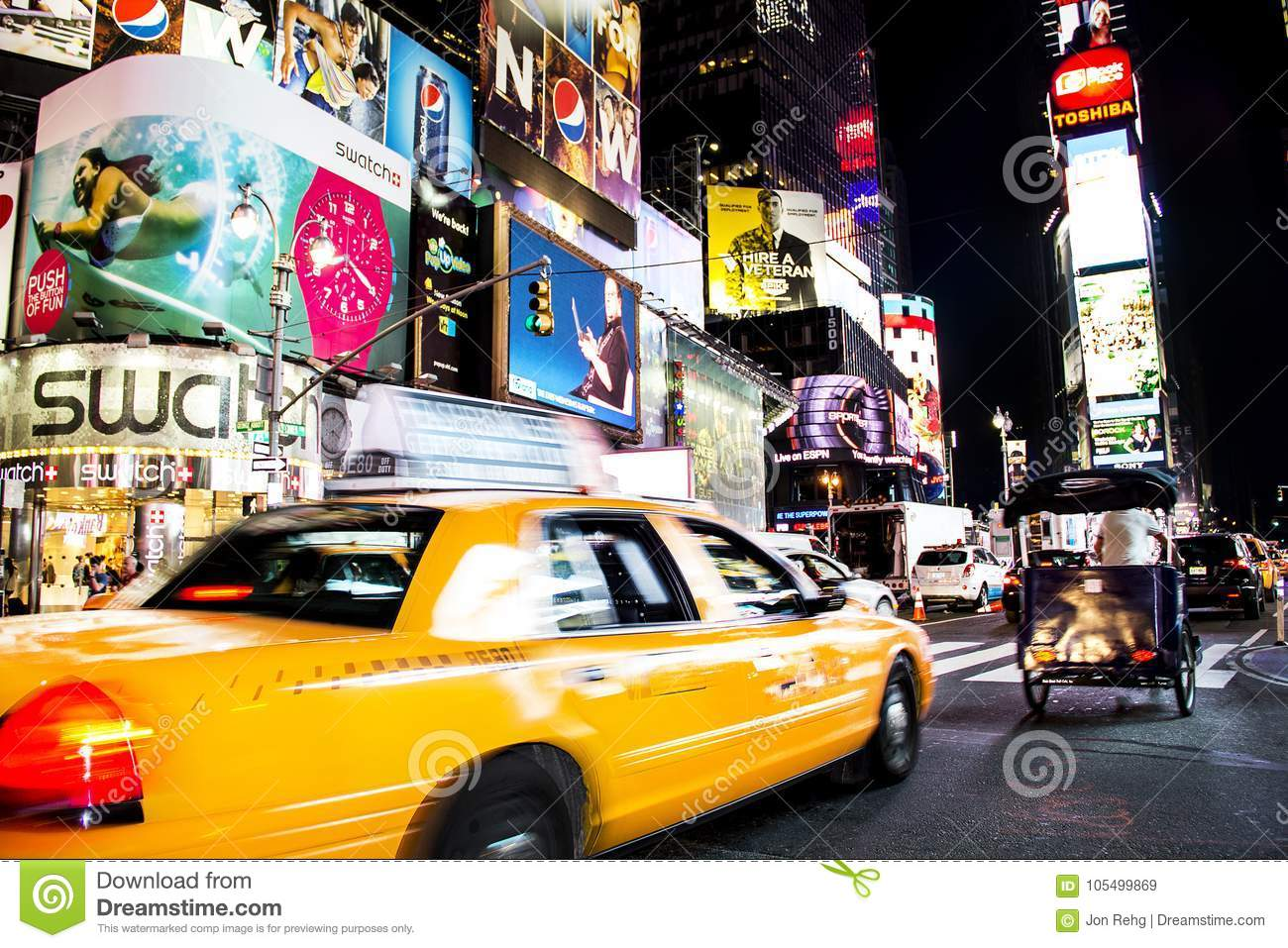 Times Square, New York City, New York, United States - Circa 2012