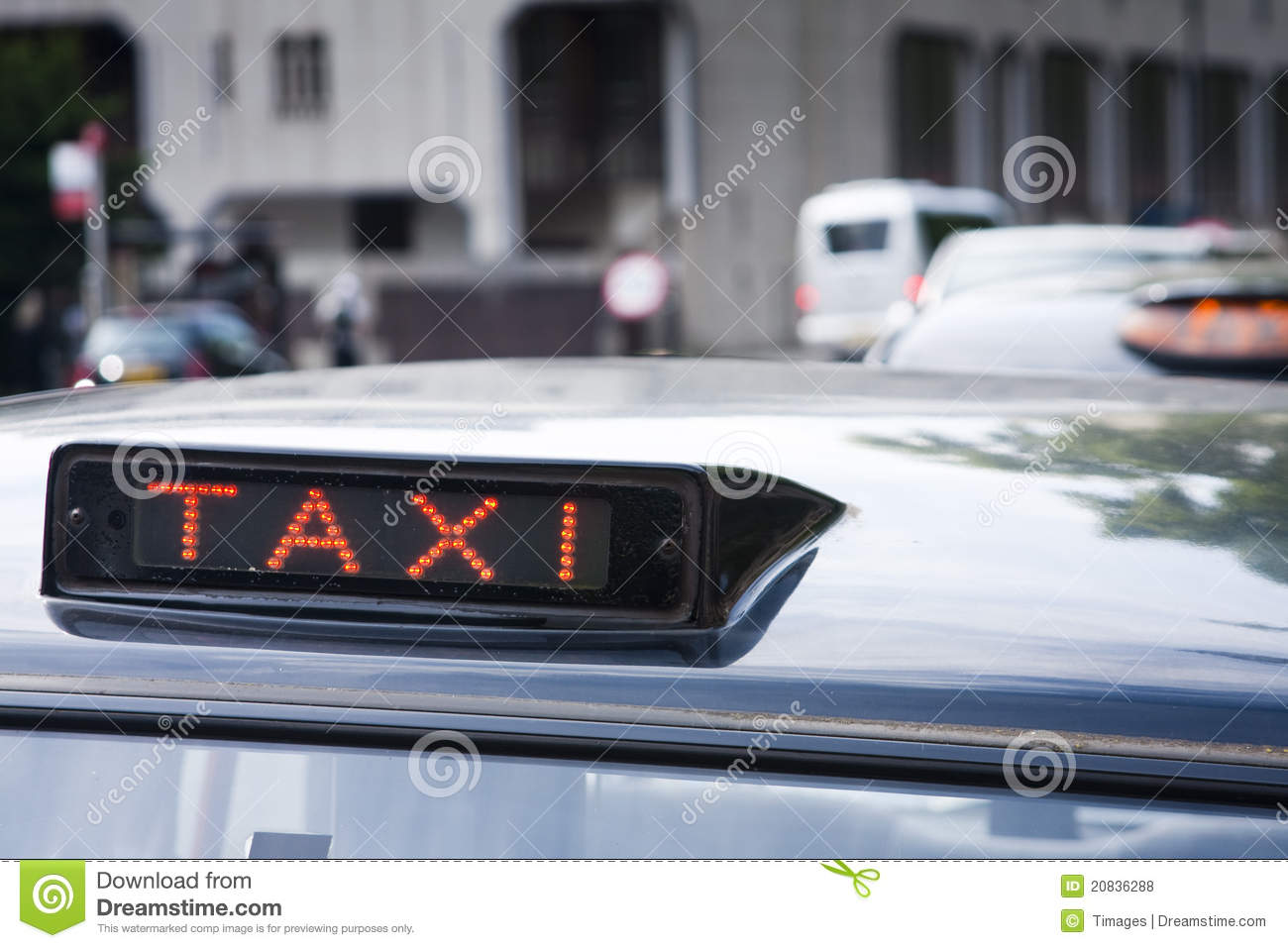 Taxi cab signs stock photo  Image of transport, symbol