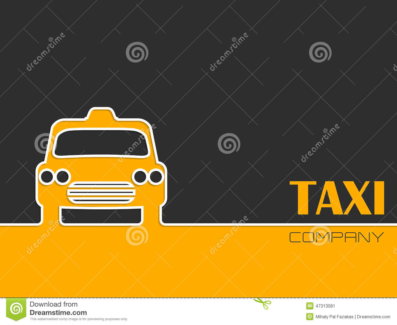 Yellow Cab Clipart