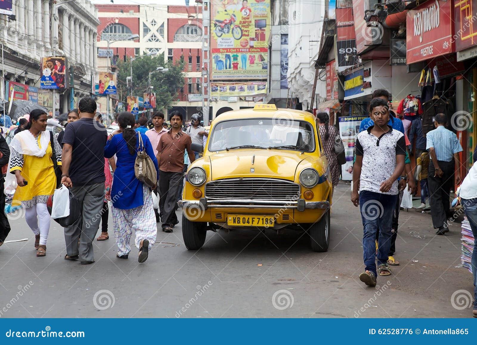 Taxi dans Kolkata, Inde