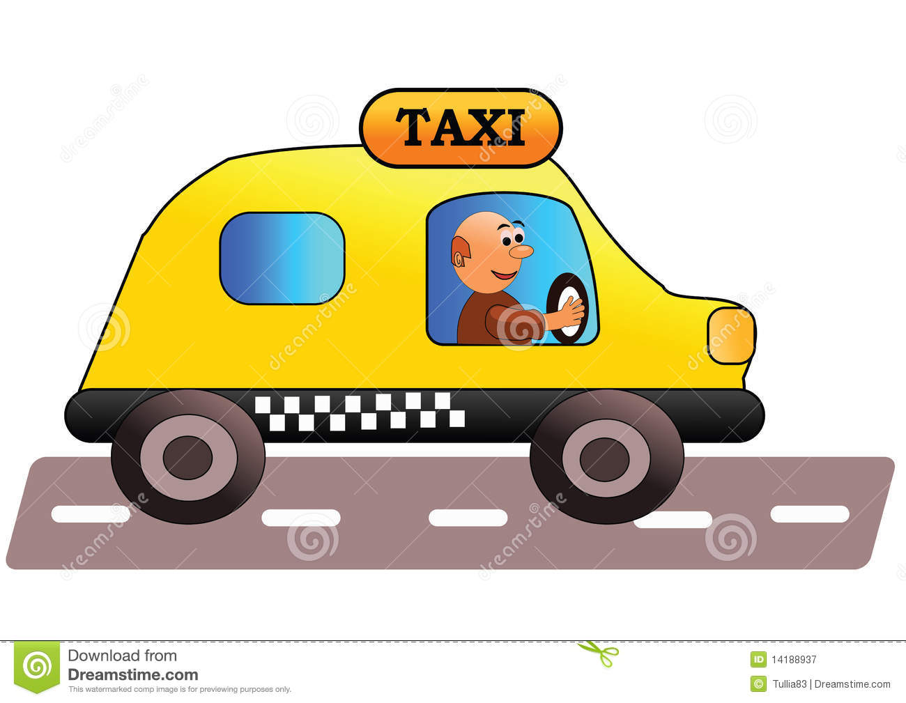Taxi Driver Royalty Free Stock Photography Image 14188937