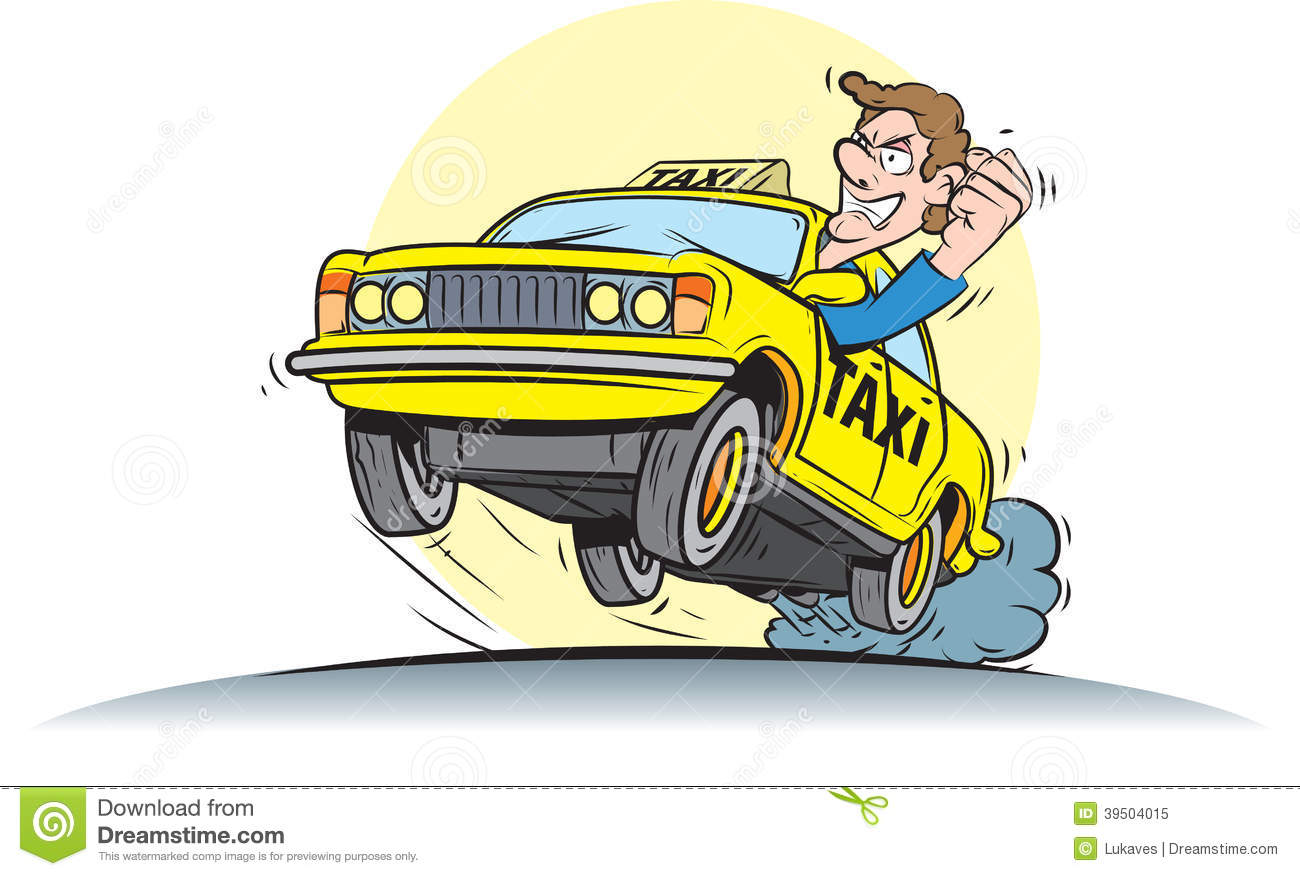 Taxi Driver Stock Vector - Image: 39504015