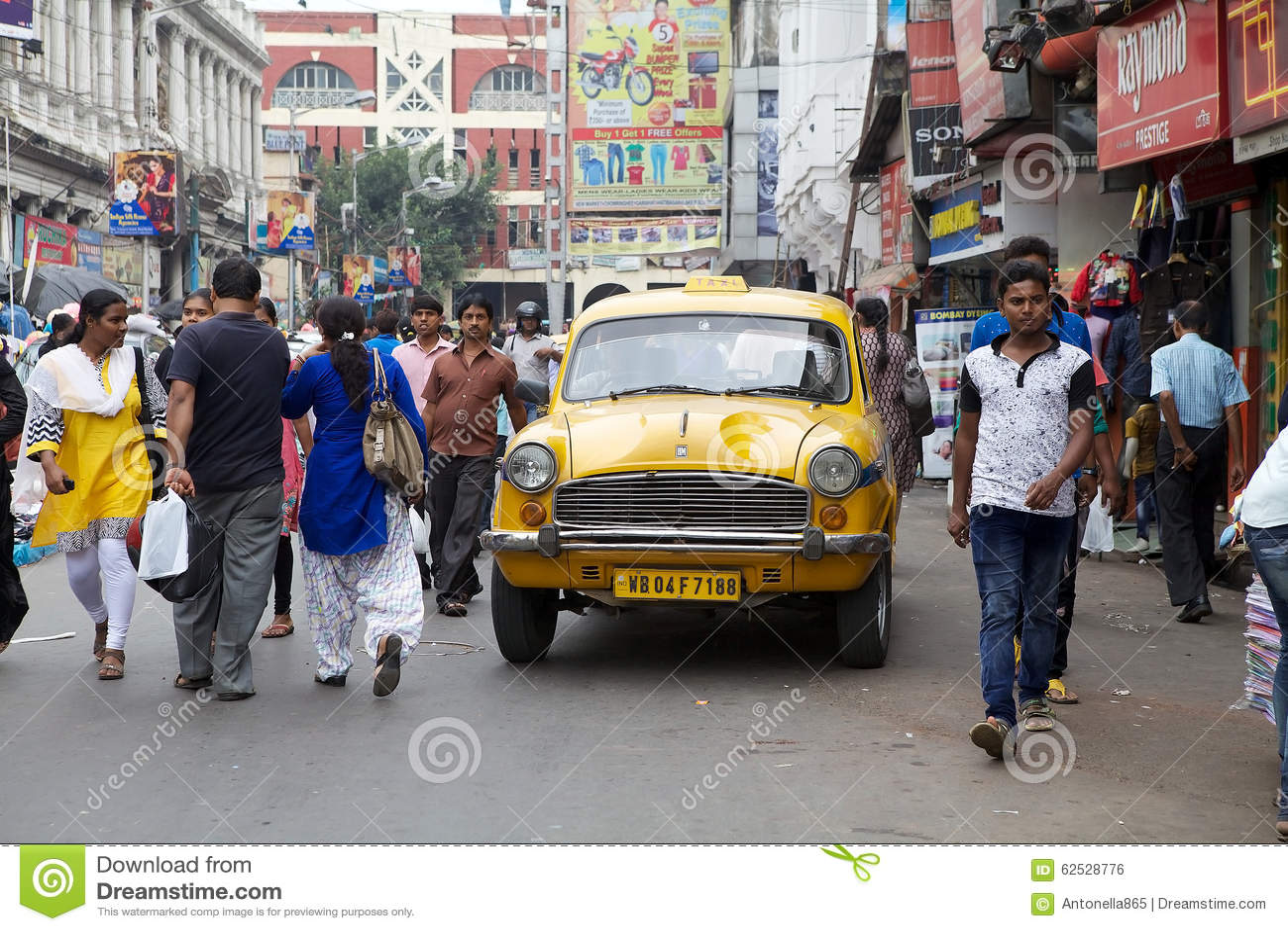 Taxi i Kolkata, Indien