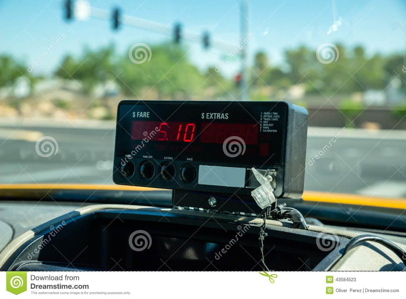 Taxi Meters Purchase : Taxi meter stock image cartoondealer