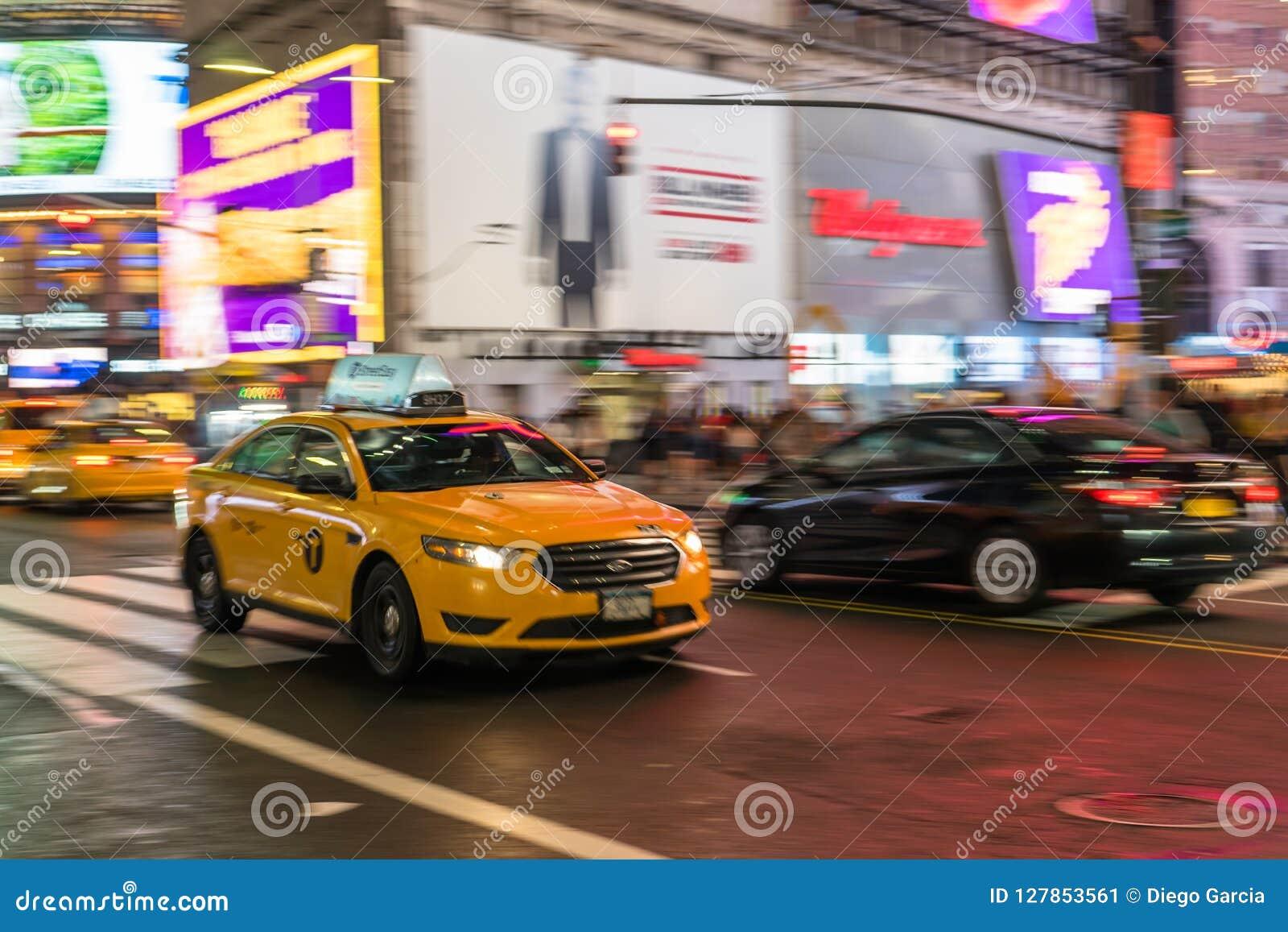 Taxi in NYC-Stormloop