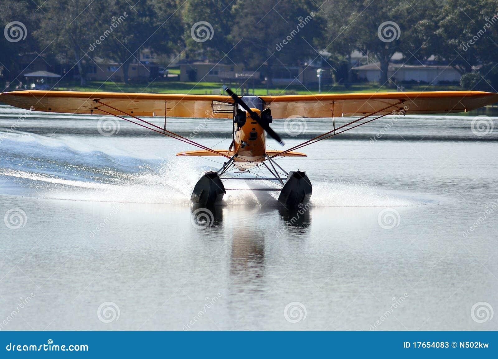 Taxi plano del flotador
