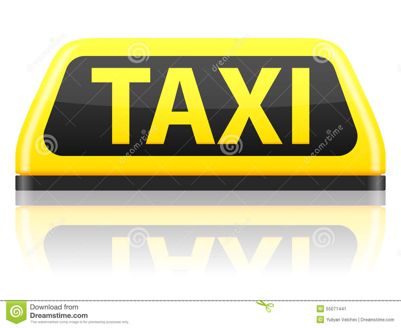 Taxi Sign   new cab roof sign light magnetic base car taxi