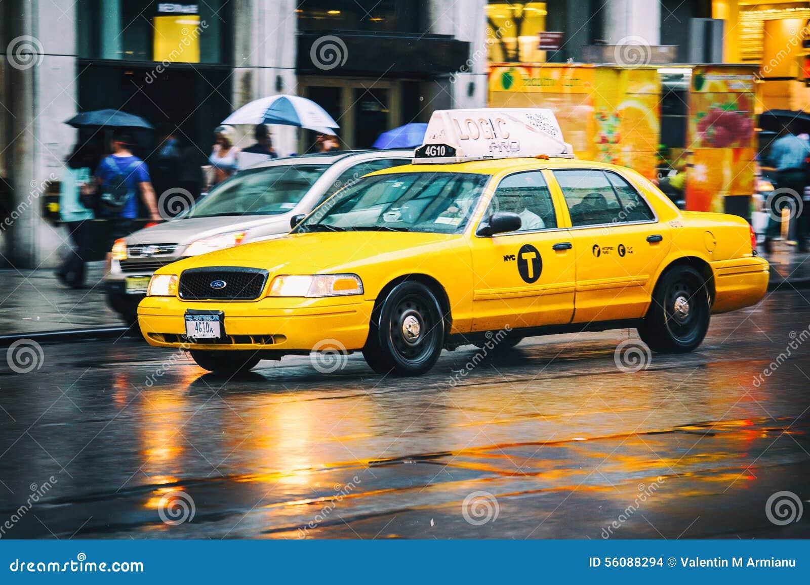 Taxicabine het verzenden