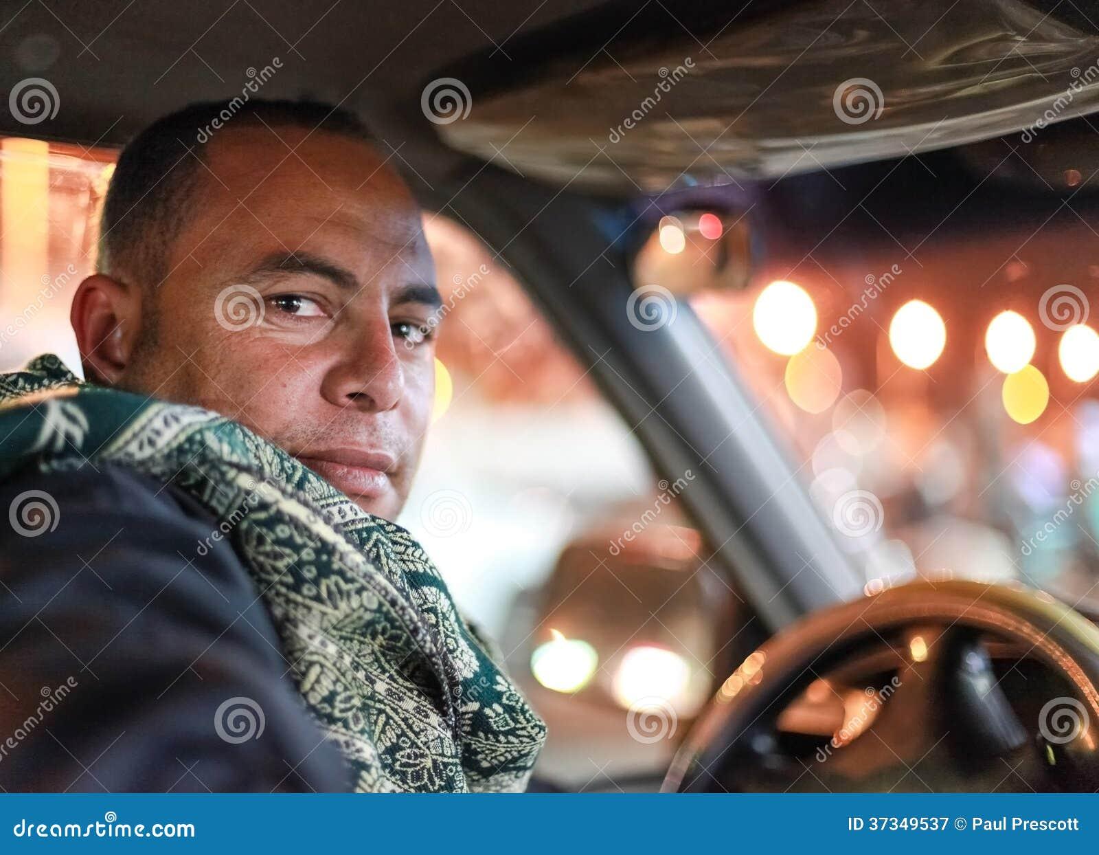 Taxichaufför