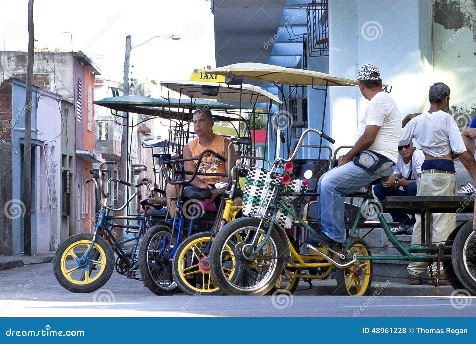 Taxicirkuleringar i Camaguey, Kuba