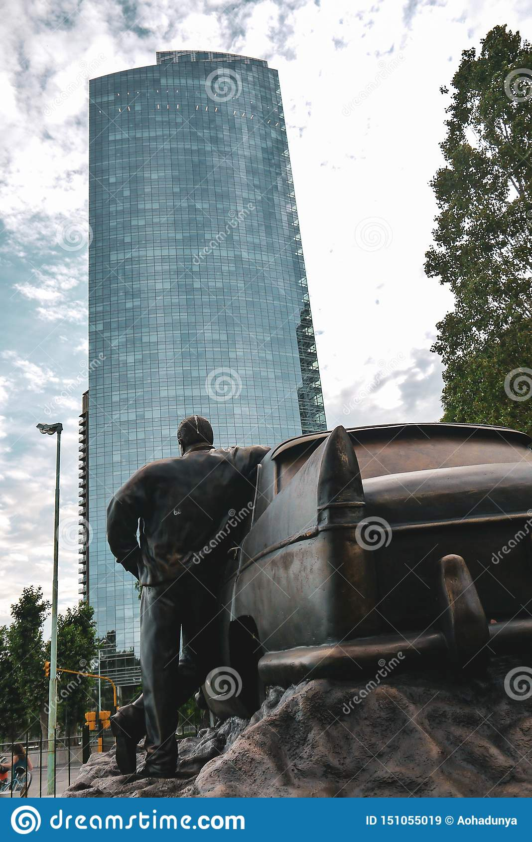 Taximonument i Buenos Aires