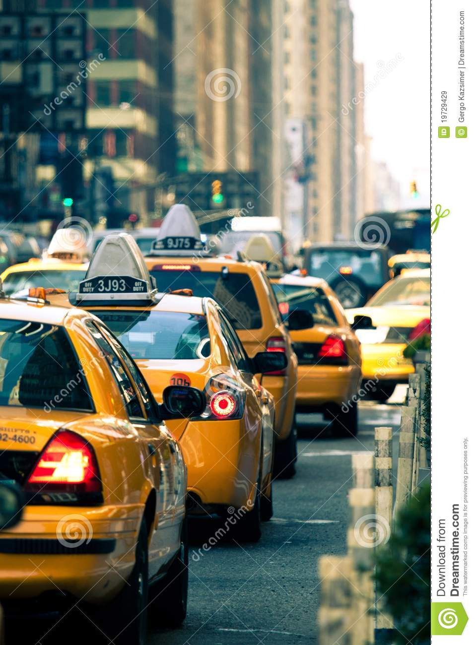 Taxis à New York City