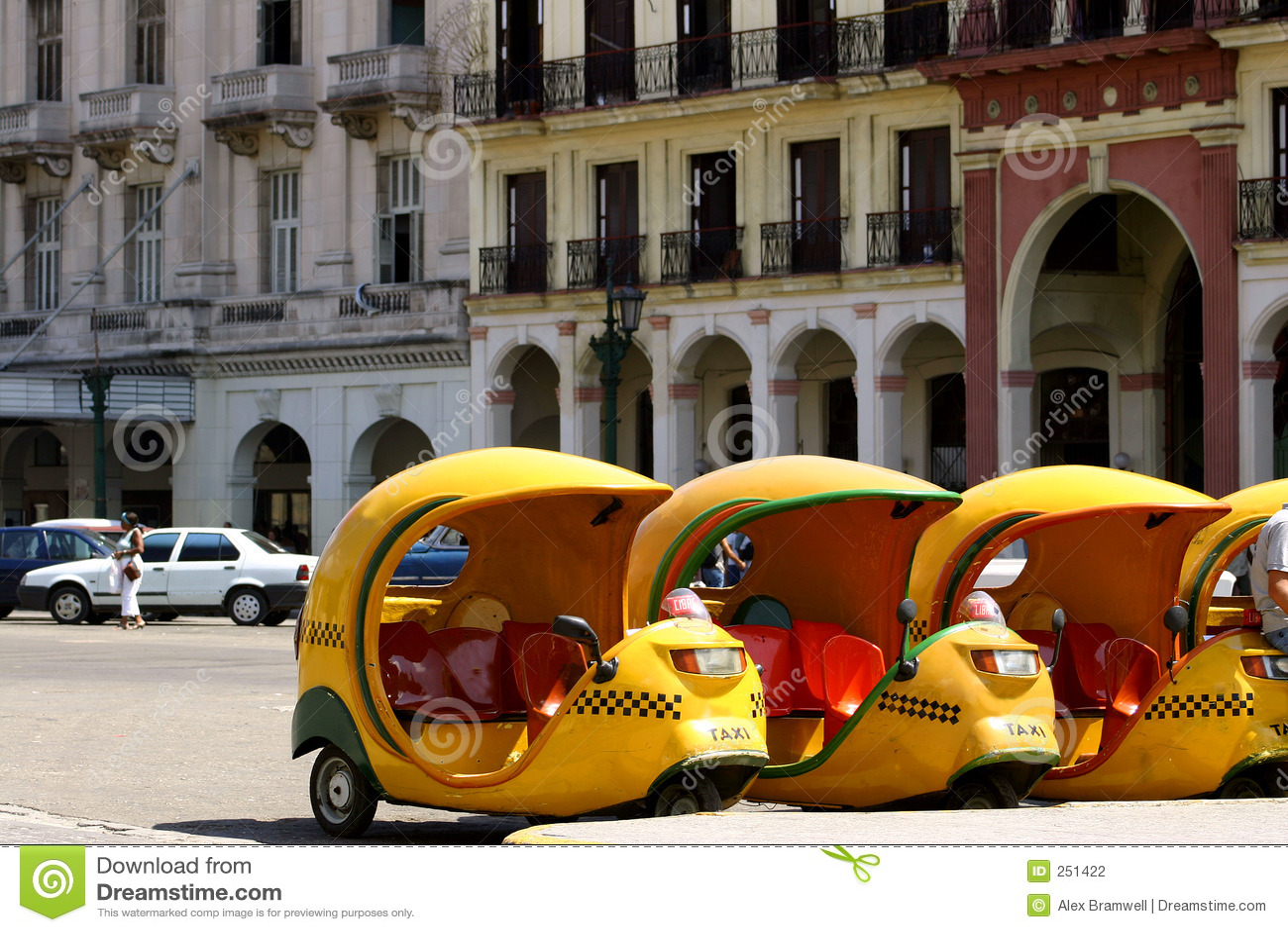 Taxis de los Cocos en Cuba