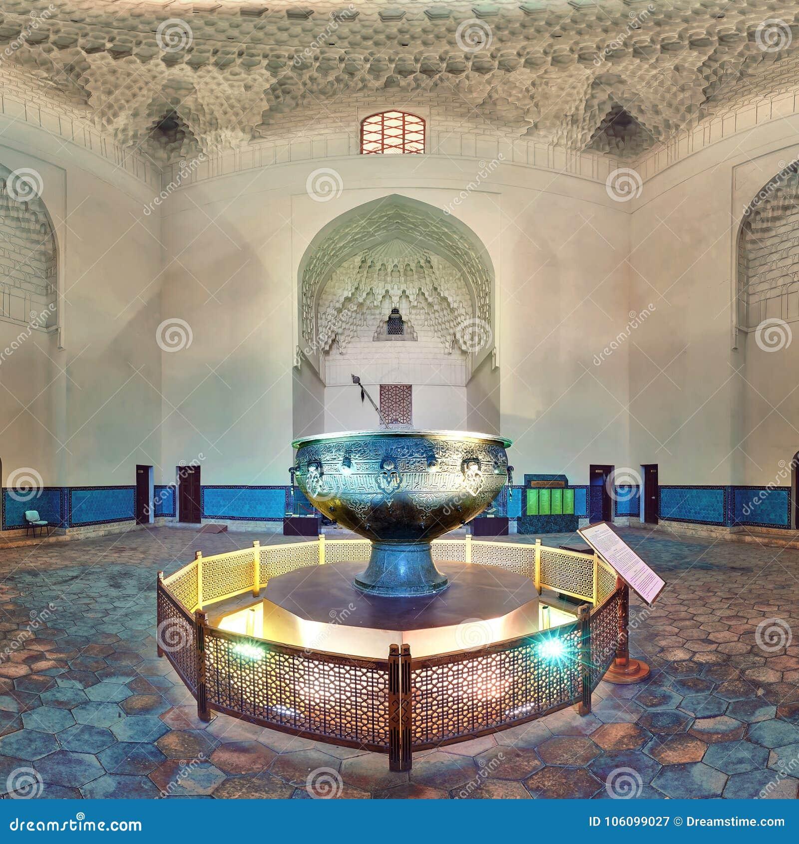 Taykazan, mausoléu de Khoja Ahmed Yasawi, Turkestan, Cazaquistão