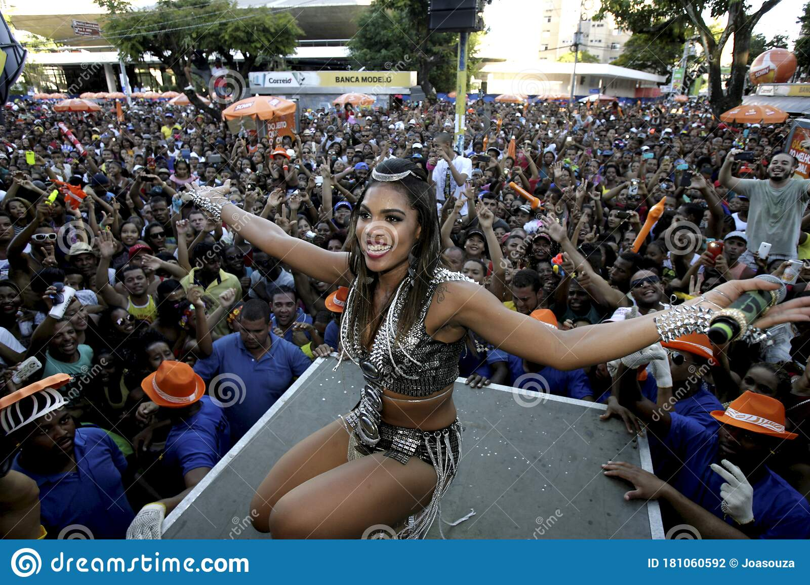 Tays Reis At Salvador Carnival Editorial Photography Image Of Music Place 181060592