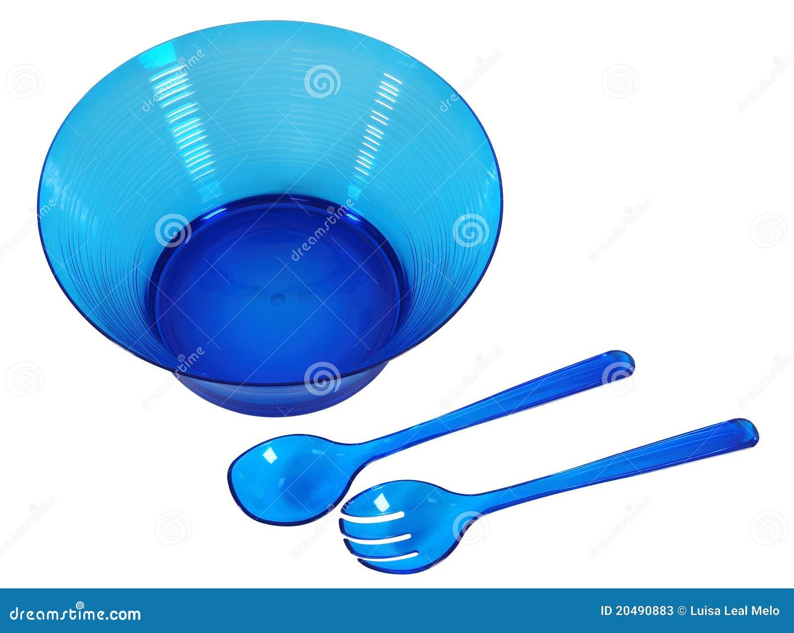 Tazón de fuente de ensalada. Aislado