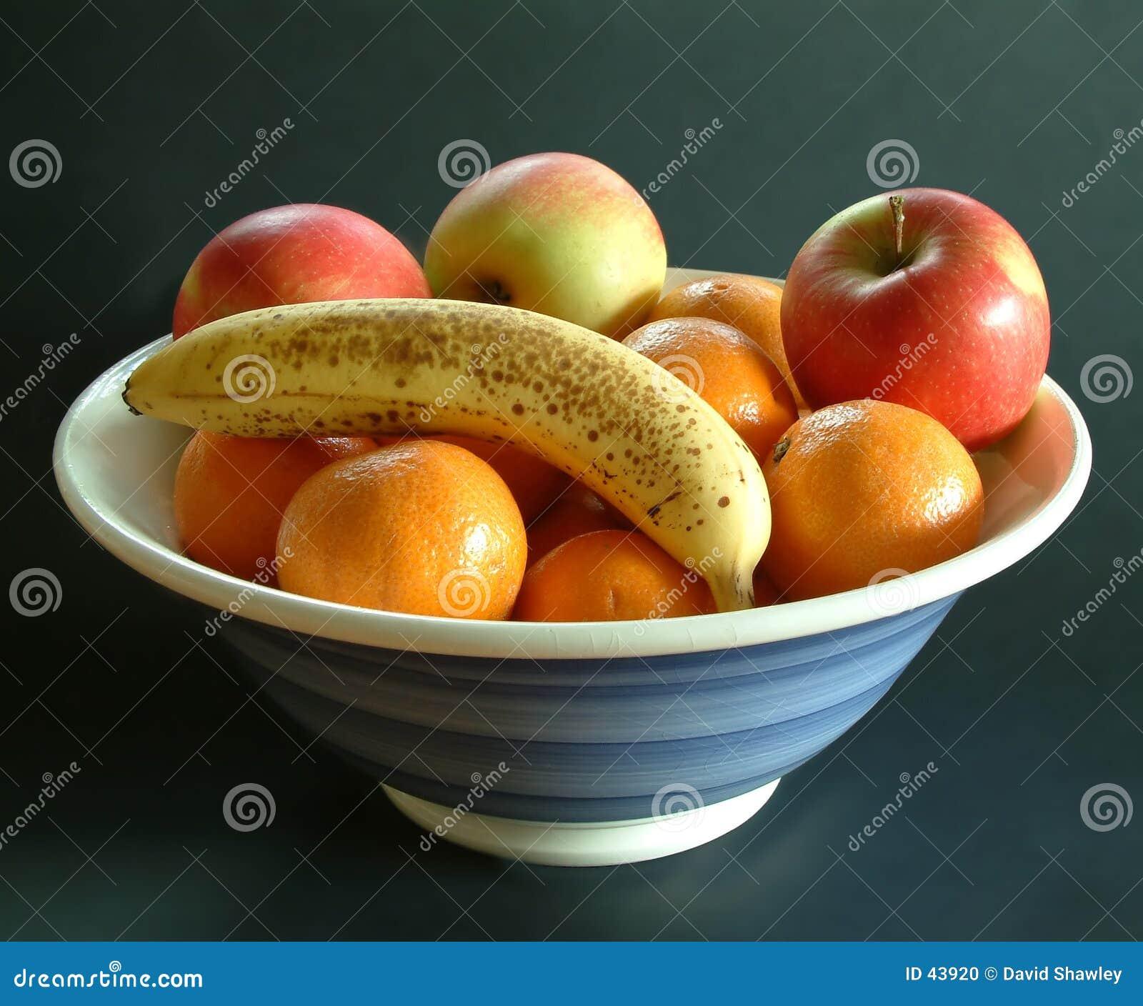Download Tazón de fuente de fruta foto de archivo. Imagen de fresco - 43920