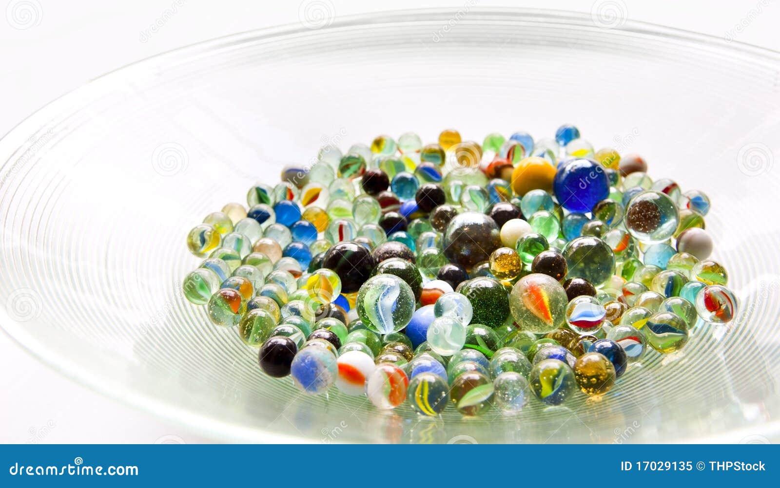 Tazón de fuente de mármoles
