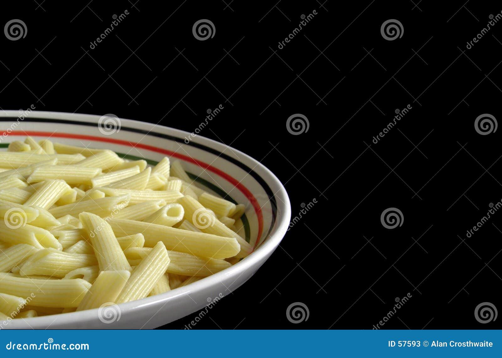 Tazón de fuente de pastas