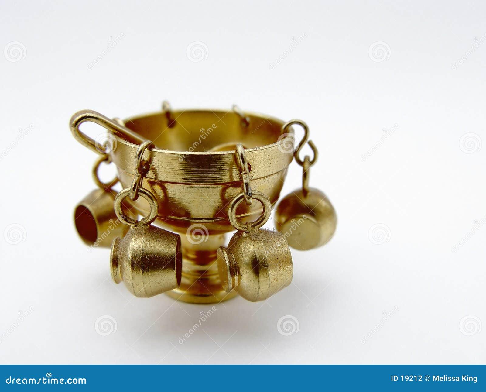Tazón de fuente de sacador de cobre