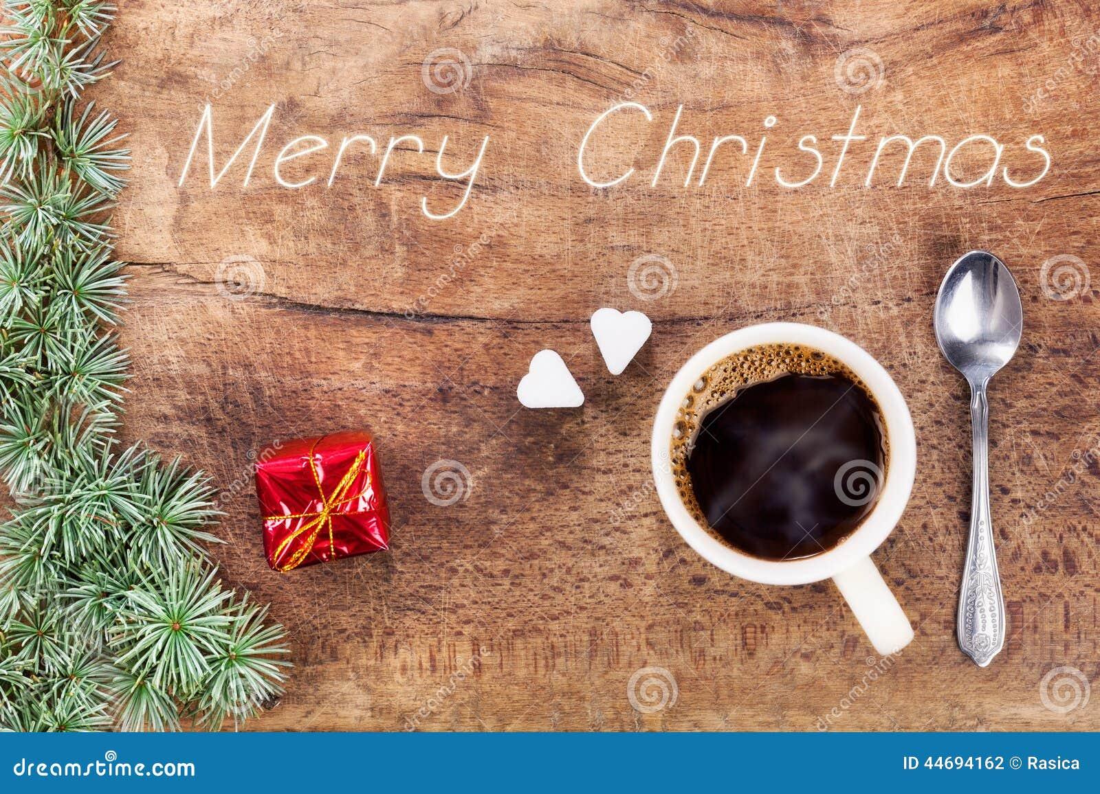 Taza de caf con la decoraci n ix de la navidad foto de for Decoracion con tazas de cafe