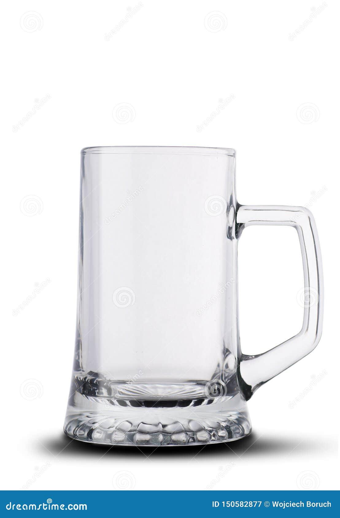 Taza de cerveza grande vacía