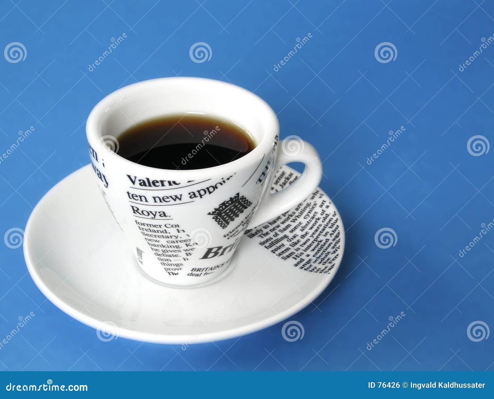 Taza de Coffe en azul