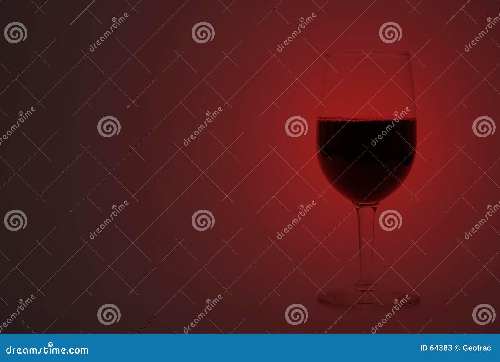 Taza de vino rojo