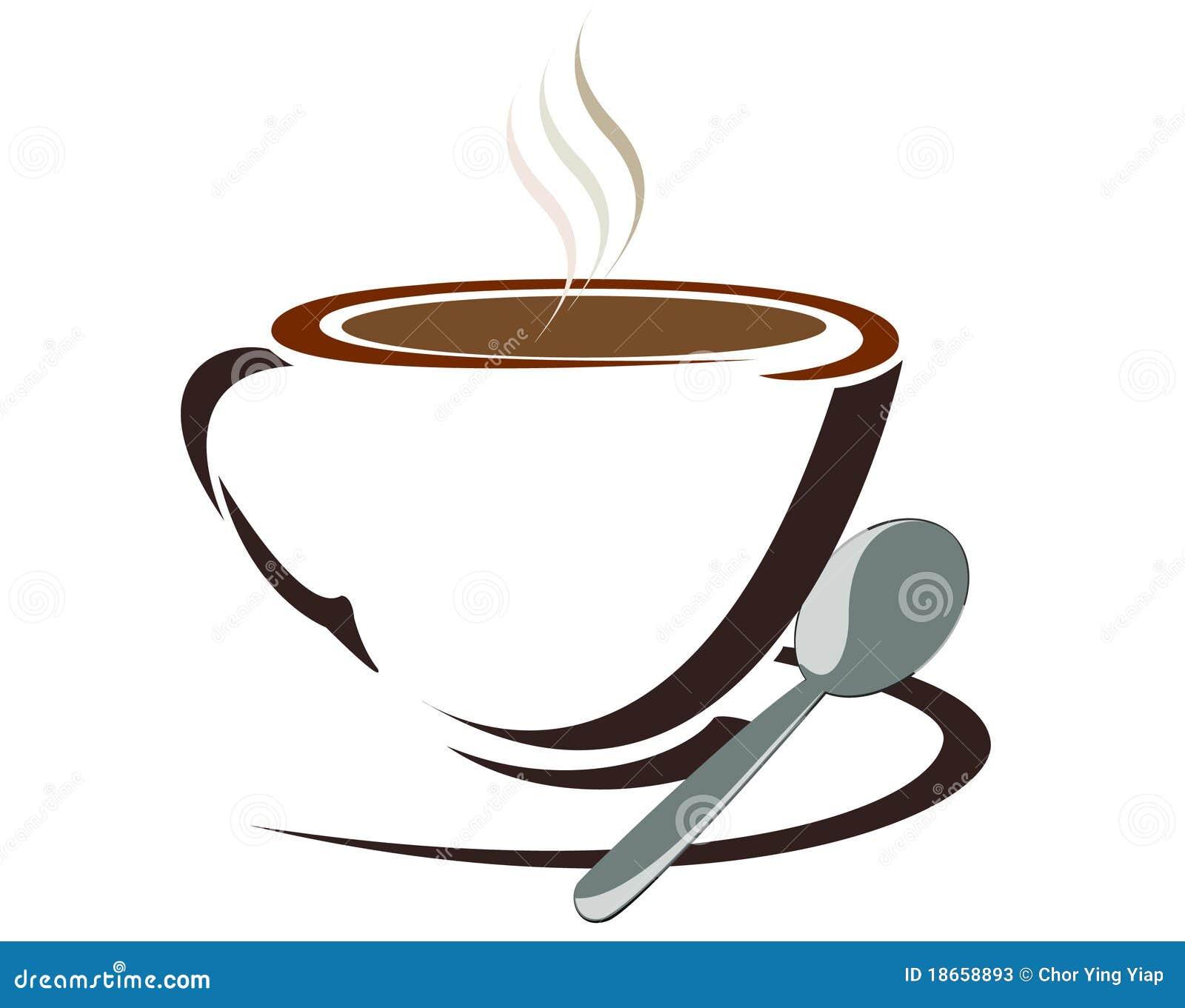 Taza del caf con leche ilustraci n del vector for Capacidad taza cafe con leche