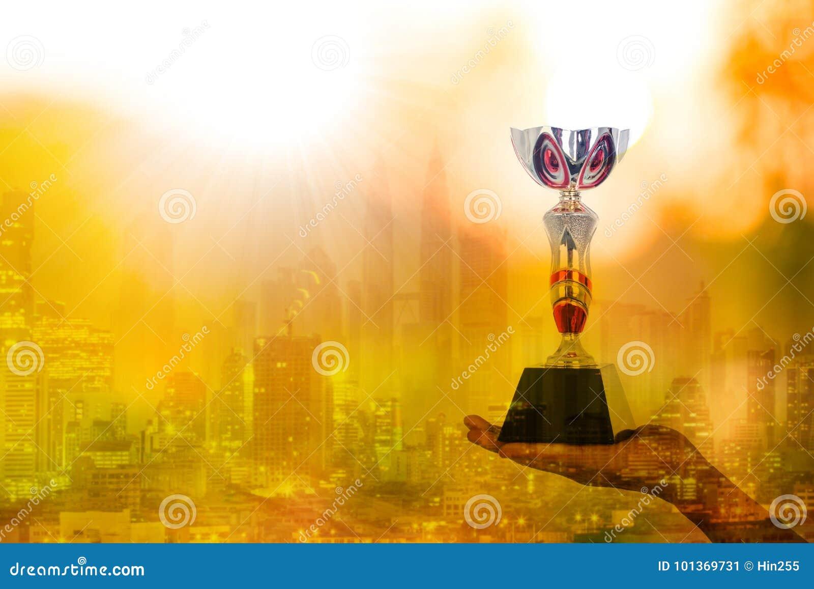 Taza del premio del ganador del trofeo del campeón
