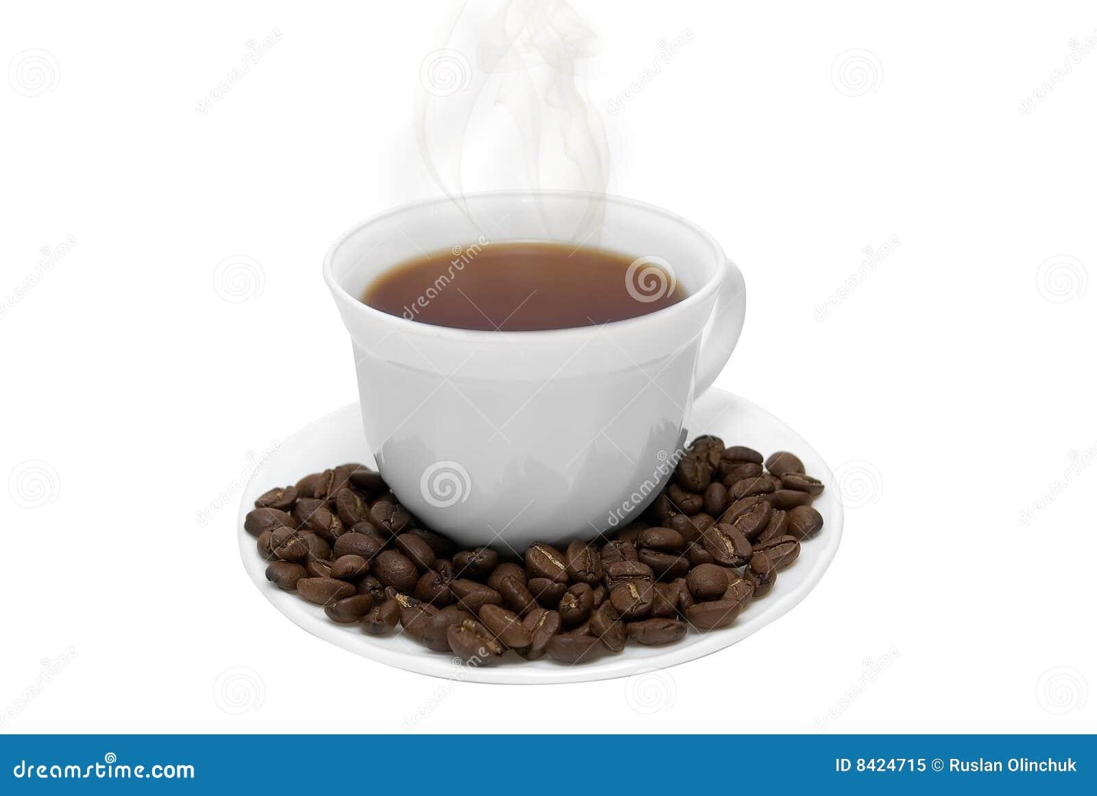 Taza perfecta del caf con leche foto de archivo libre de for Taza de cafe con leche