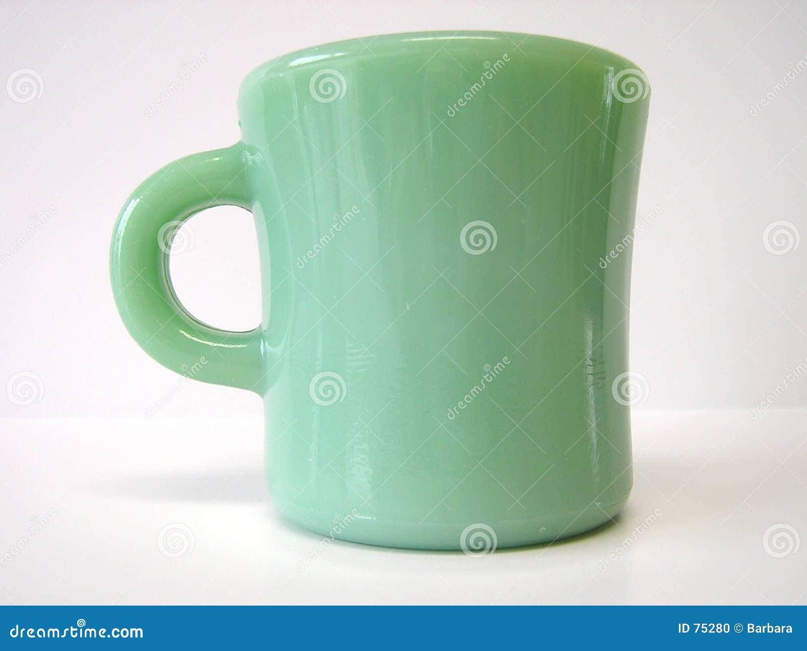 Taza verde