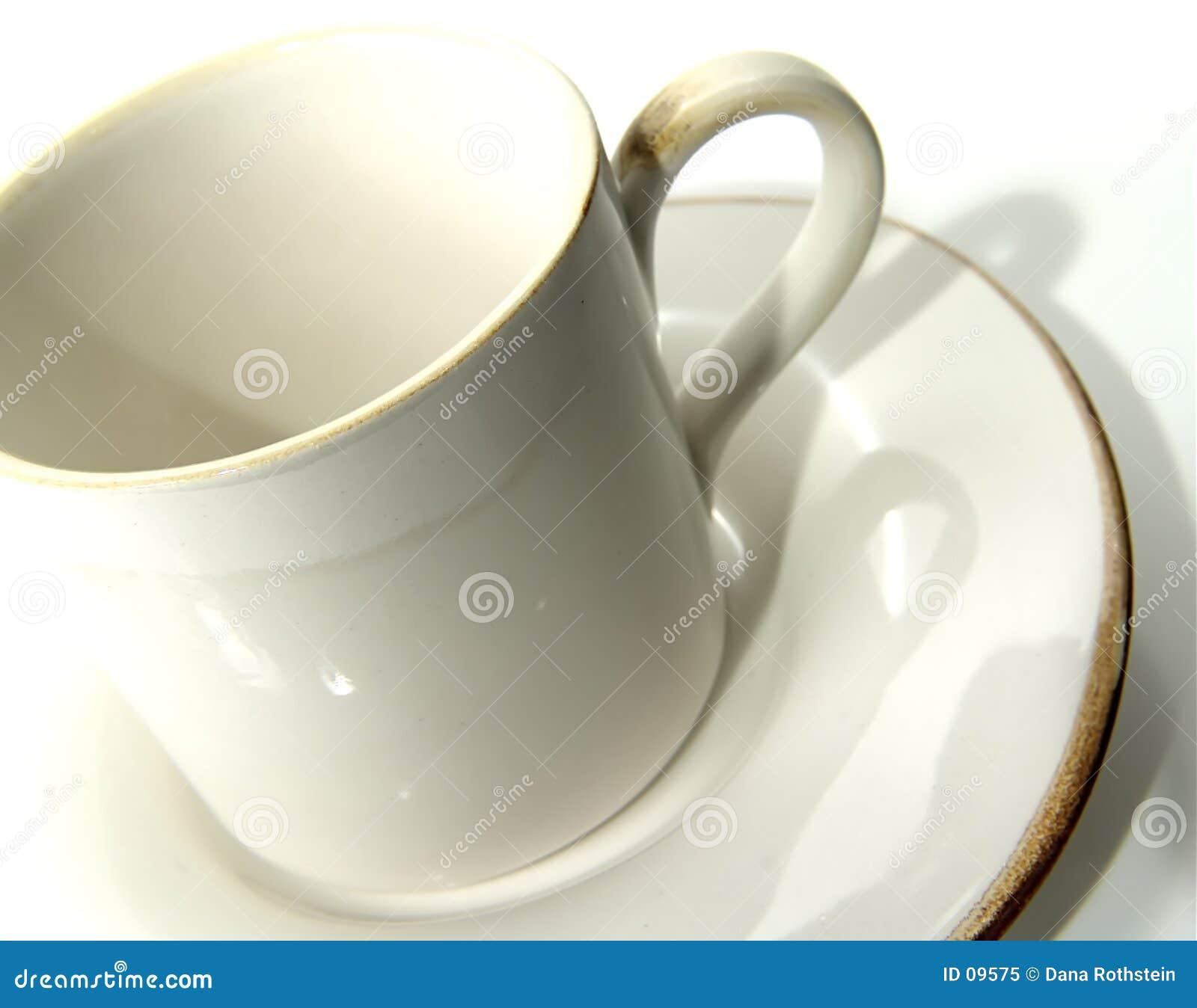 Download Tazza di caffè 2 immagine stock. Immagine di pranzo, tabella - 9575