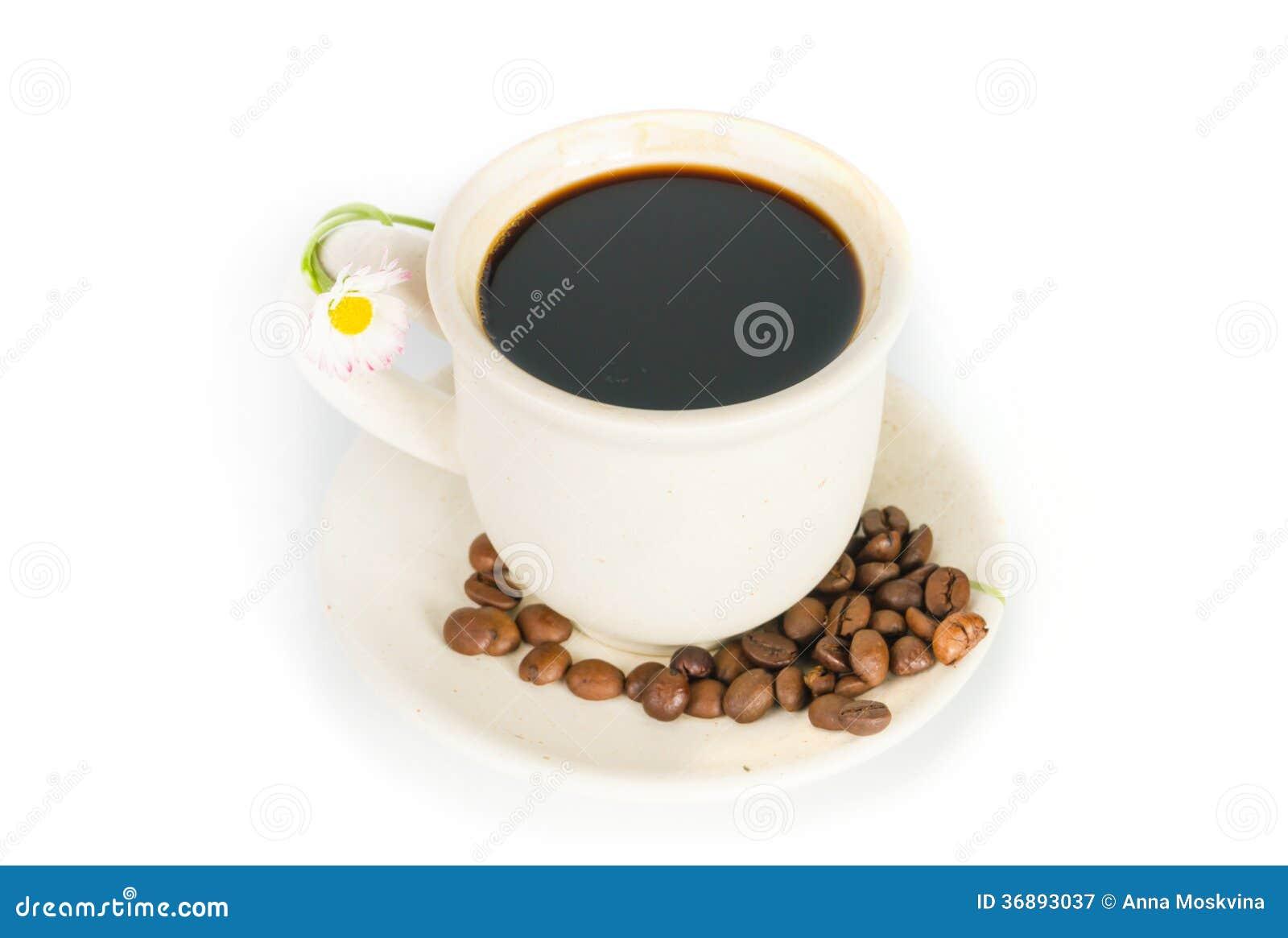 Download Tazza di caffè immagine stock. Immagine di alimento, background - 36893037