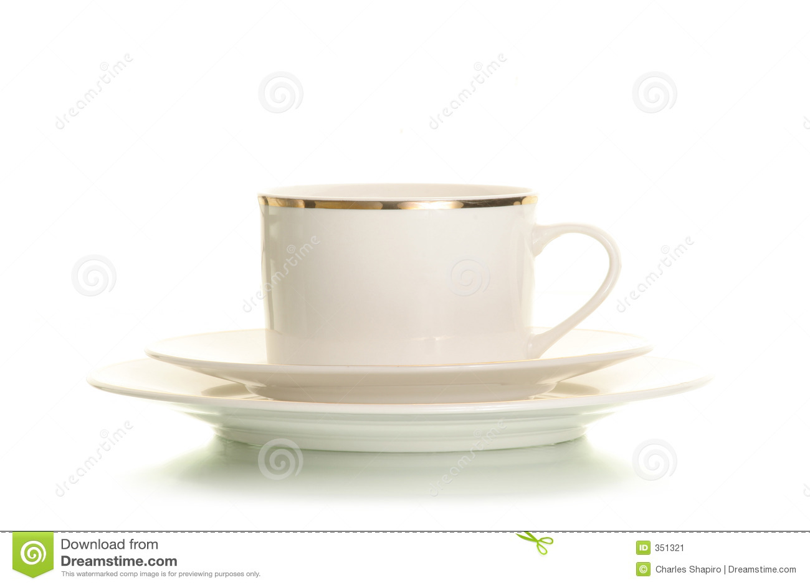 Tazza di caffè isolata