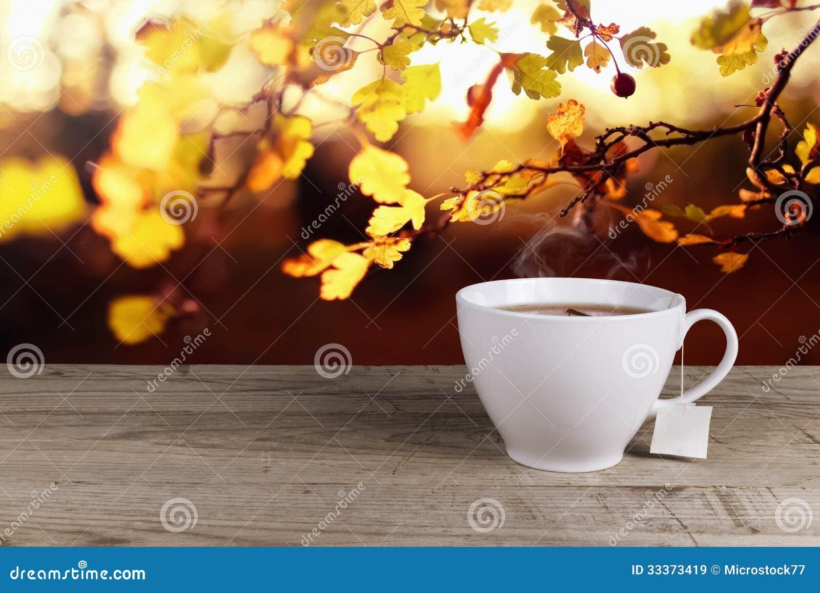 Tazza di tè caldo
