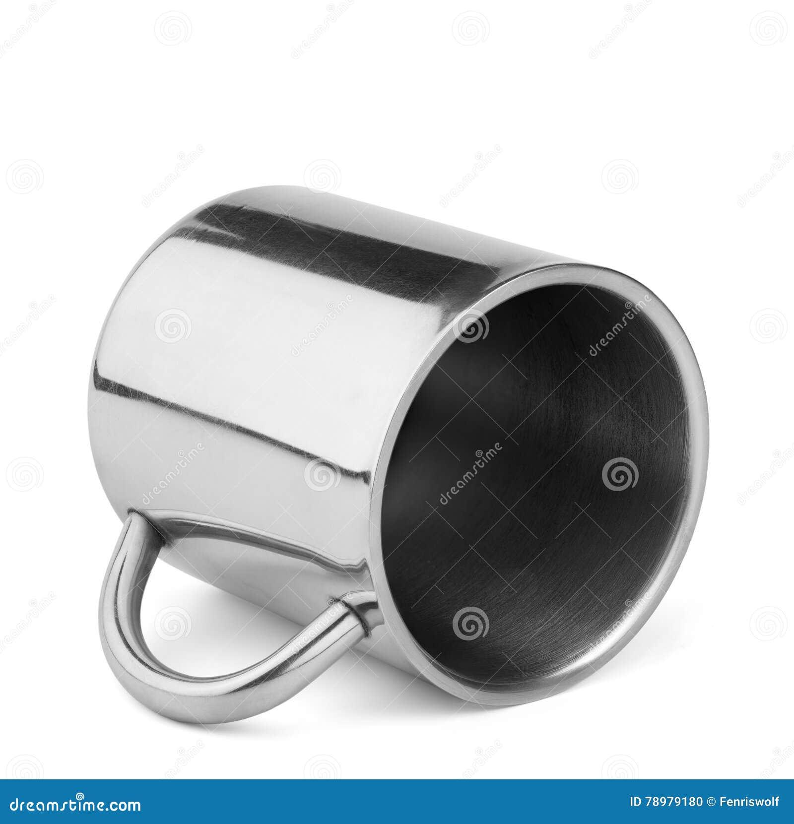 Tazza di viaggio dell acciaio inossidabile termo con la maniglia