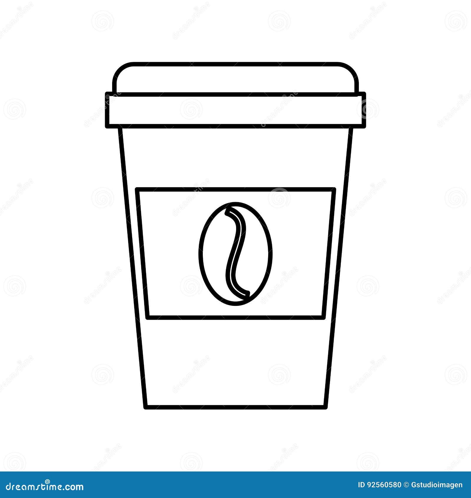 Tazza eliminabile del coffe