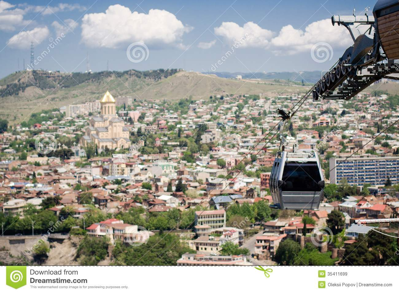 How To Buy A Car In Tbilisi Georgia: Tbilisi Cable Car Stock Image. Image Of Holy, Tbilisi