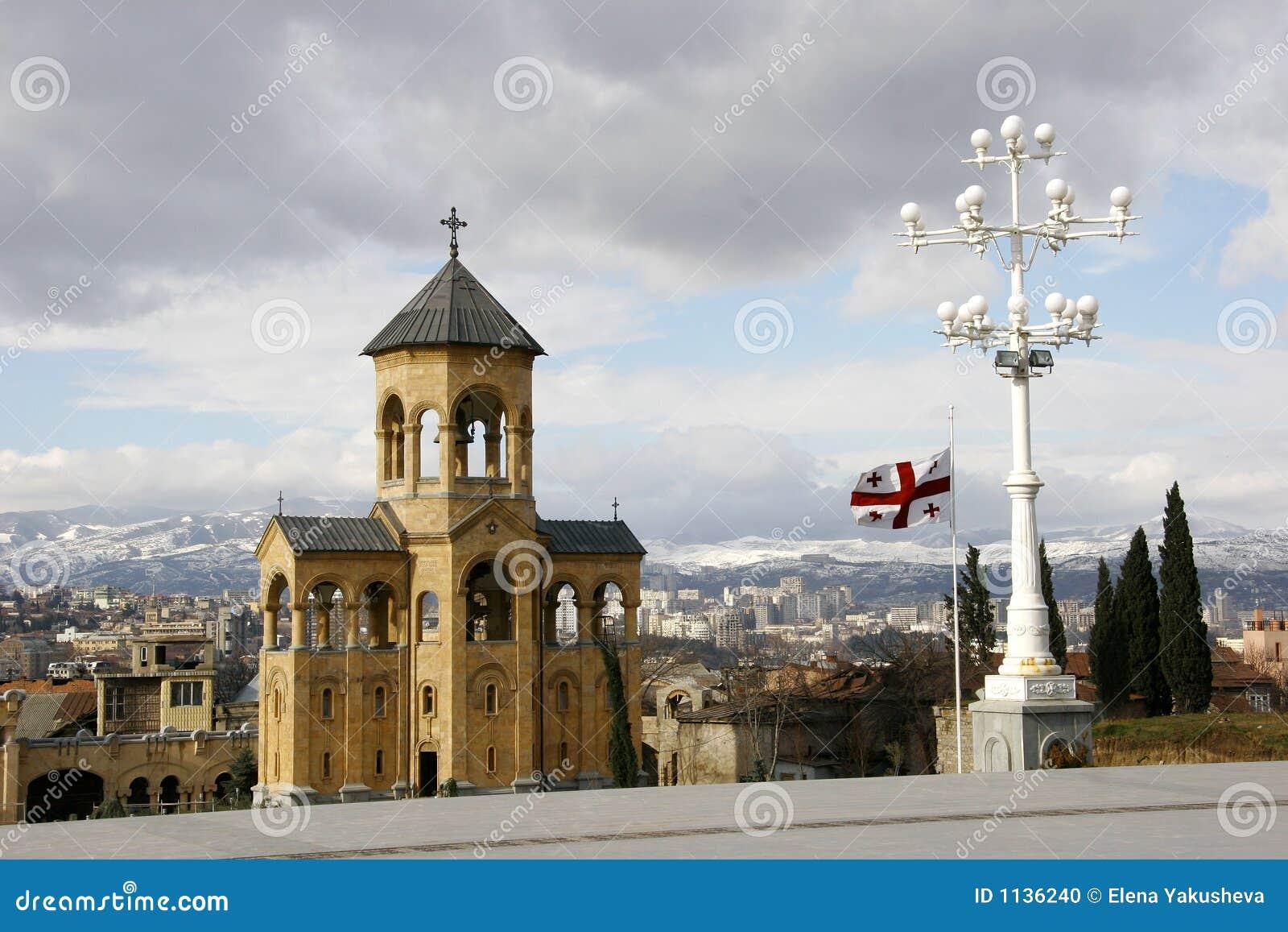 Tbilisi, Georgië, stadsmening