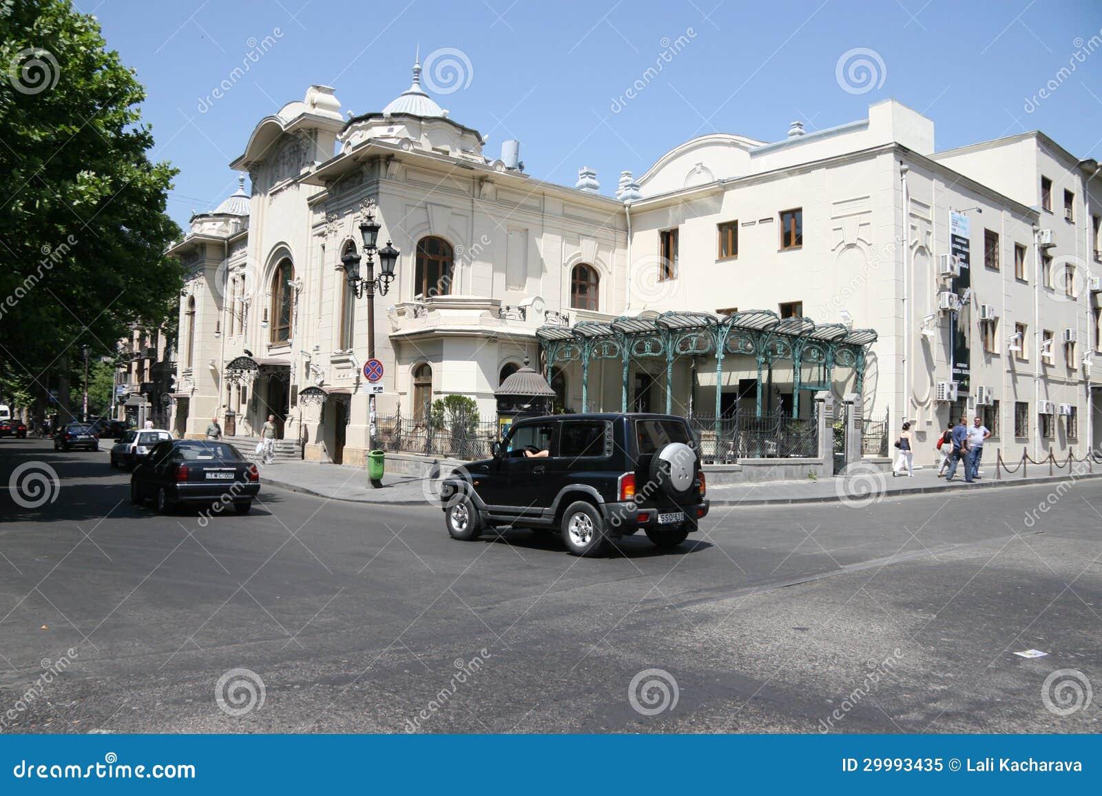 Live Videos Cars Tbilisi Georgia: Tbilisi Editorial Image