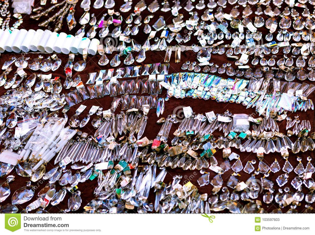 Georgia Tbilisi Flea Market Stock Photos Georgia Tbilisi: 08 October, 2016: Dry Bridge Flea