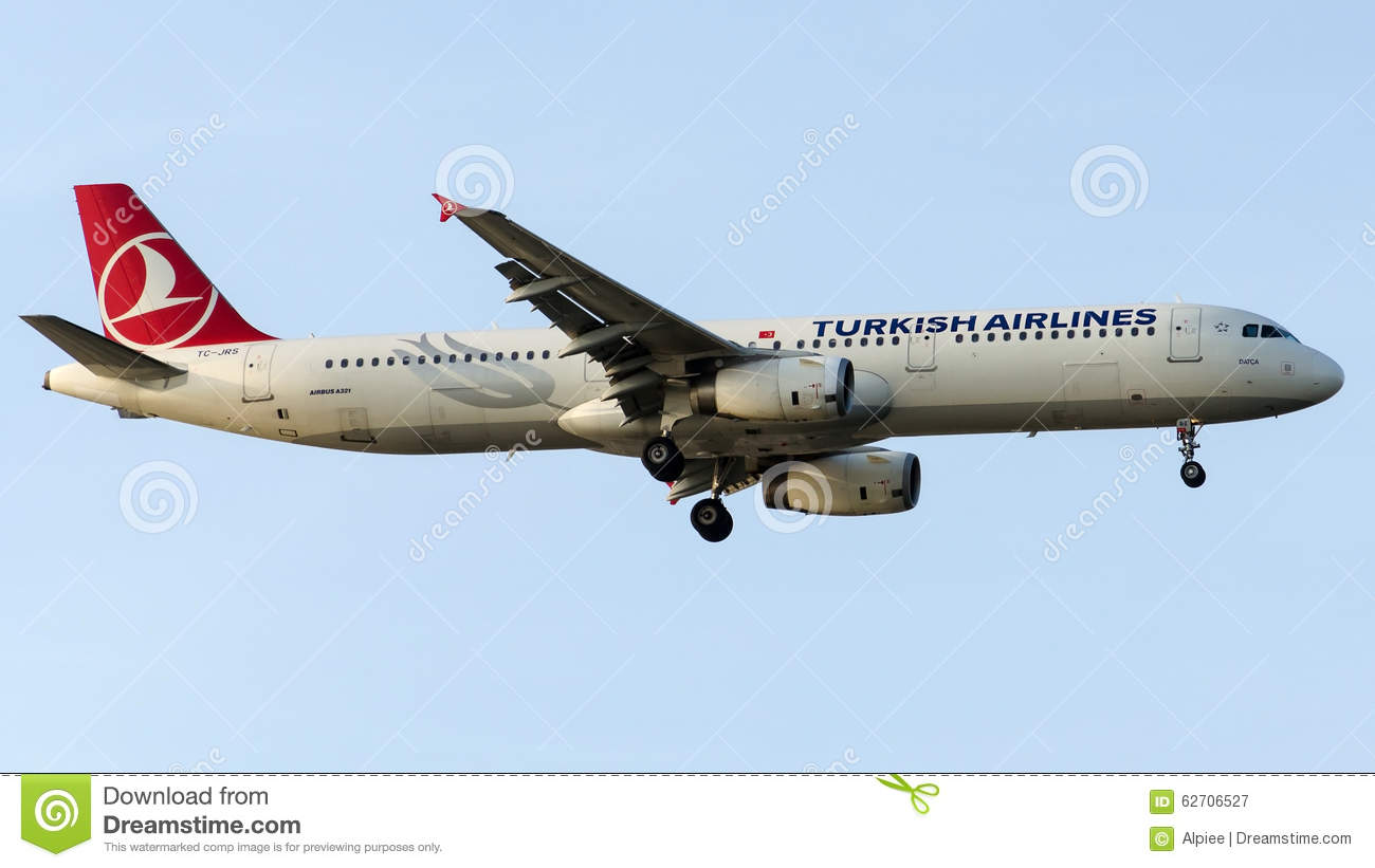 TC-JRS Turkish Airlines, airbus A321-231 που ονομάζεται DATCA