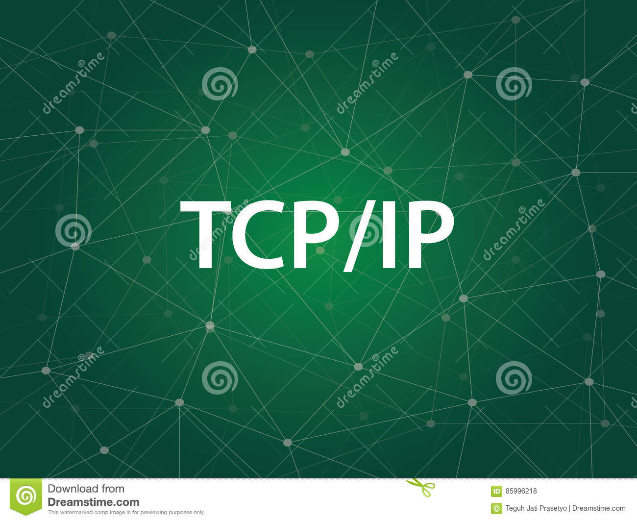 Circuit Board And Binary Code Stock Vector Clipart Transmission Of Tcp Ip Networking Control Protocol Internet Royalty Free Is A Set Rules Protocols Governing