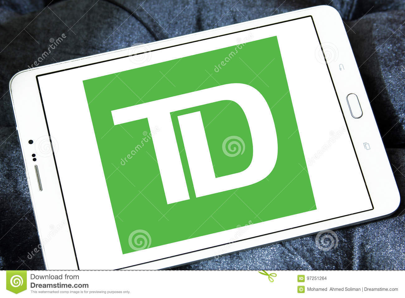 Td Bank Logo Editorial Stock Image Image Of Chinese 97251264