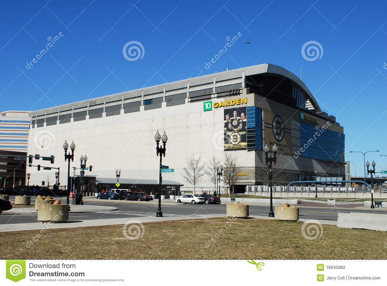 TD Garden Boston MA Editorial Photography Image 18945982